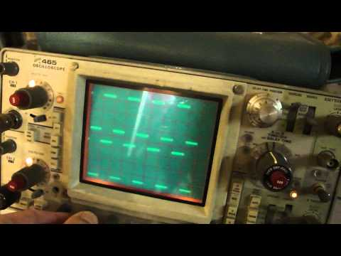 oscilloscope  Tektronix 465