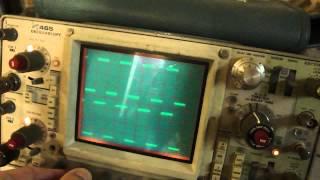 oscilloscope  Tektronix 465