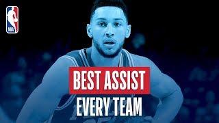Best Assist From Every Team: 2018 NBA Season