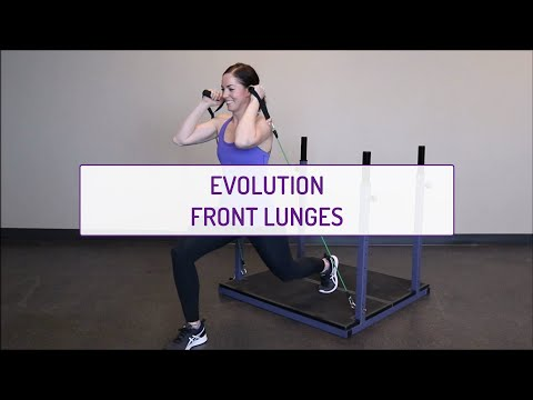 Evolution Front Lunges