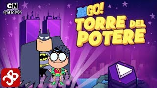 Teen Titans Go: Tower of Power (Cartoon Network Games) Gameplay Video