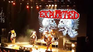 The Exploited - The Massacre (Rus, Moscow, GlavClub, 16-02-2018)