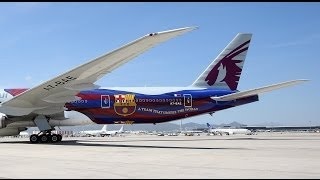 MAKING OF - The painting of Qatar Airway