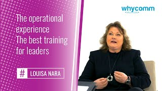 The operational experience: the best training for leaders (14 of 19)