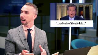 Tucker Carlson defends President Trump, blames the left for violence