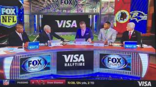 Michael Strahan reacts to disrespect from Howie Long