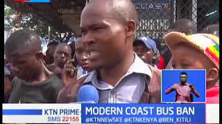 Confusion rocks modern coast bus company over NTSA directive maintaining that the ban is still on