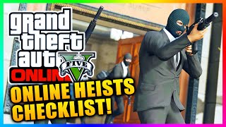 GTA 5 Heists Setup Checklist - How To Plan For & Start GTA Online Heists! (GTA V)