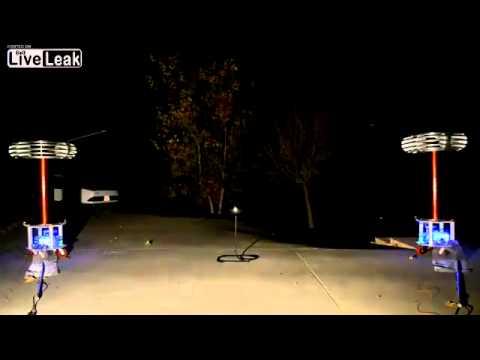 Sweet Home Alabama played by Tesla coils
