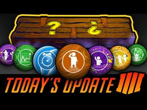 TODAY'S UPDATE: REWARDS REVEALED! Treyarch Zombies Challenge IS LIVE (GobbleGum Challenge)