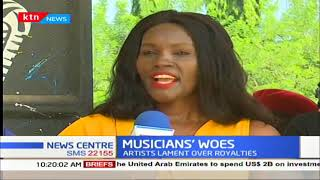 Kenyan musicians lament over royalty ties