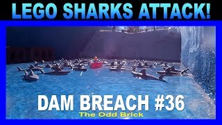 LEGO Dam Breach #36 - LEGO Shark Attack!