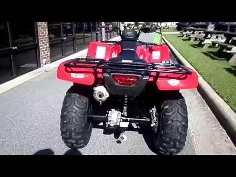 2017 Honda FourTrax Rancher 4x4 in Greenville, North Carolina