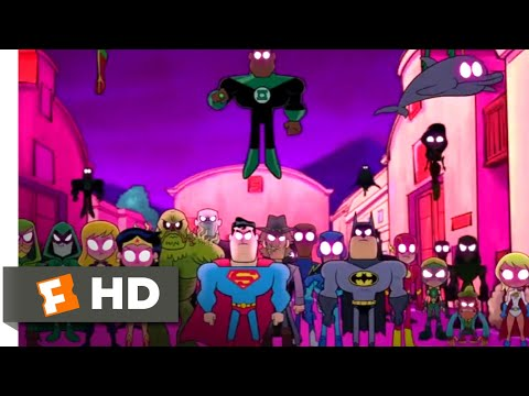 Teen Titans GO! to the Movies (2018) - Justice League vs Teen Titans Scene (9/10) | Movieclips