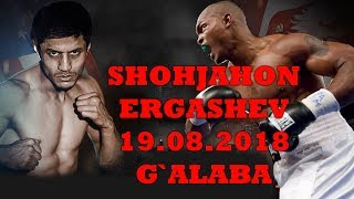 Shohjahon Ergashev jangi 19.08.2018 g`alaba qozondi. Shohjahon Ergashev vs Juma Waswa