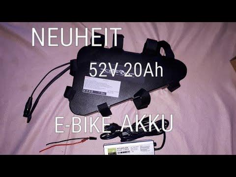 NEUHEIT E-BIKE AKKU 52V 20AH UNBOXING DEUTSCH GERMAN 16.05.2018