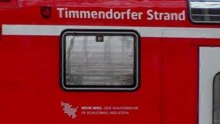 preview picture of video '112 151,Timmendorfer Strand, DB regio, , Abfahrt Hbf Lübeck, 11 Mai 2013'