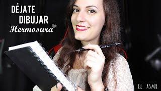 ♡ASMR español♡ DÉJATE DIBUJAR, HERMOSURA!♥ #2 *Roleplay Dibujante*