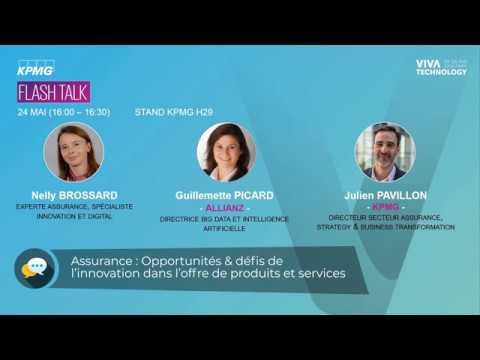 VIVATECH – FlashTalk du 24 mai – opportunités et défis de l'innovation dans l'offre de produits services