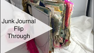 Junk Art Journal Flip Through