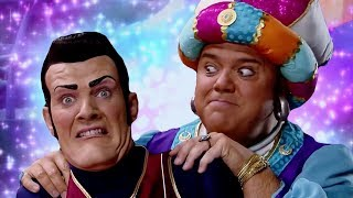 Lazy Town Robbie | Rotten Meets The Greatest Genie Music Video | Lazy Town Songs
