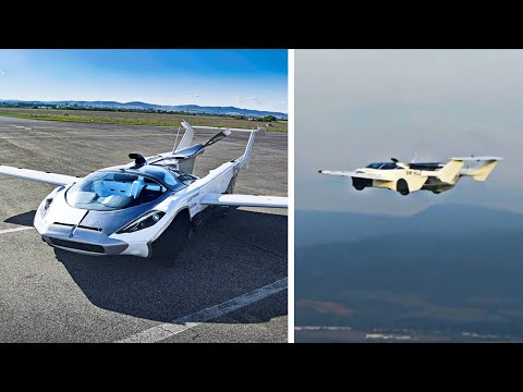 This Awesome Air Car Can Transform Into An Airplane!
