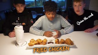 Fried Chicken! Quinn the cook EP5