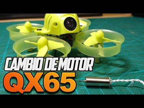 Eachine QX65 - Cambio Motores