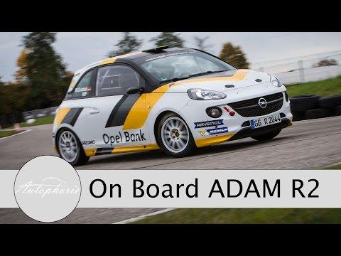 Opel ADAM R2 Rally Car - On Board - Track Test (Garmin Virb Ultra 30) - Autophorie