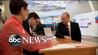 Russian presidential election underway as tensions rise with UK, US