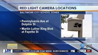 Six speed cameras, five red light cameras added to the city