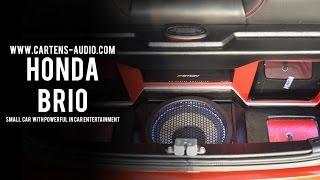 Gambar cover Audio Mobil HONDA BRIO | Car Audio Honda Brio  I Small Car with Full Car Audio Equipments