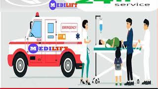 Book Medilift Ventilator Ambulance Service in Gaya and Buxar