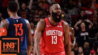 Houston Rockets Vs OKC Thunder Full Game Highlights | 12/25/2018 NBA Season