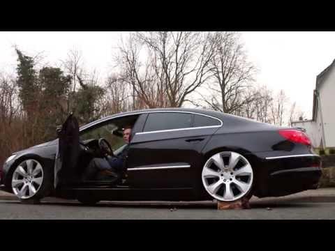 VW Passat CC on AirLift | Testing new wheels | MFS Media ♠