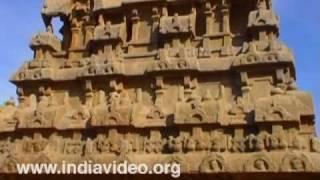 Ganesh chariot or Ratha at Mahabalipuram