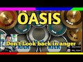 Don 39 t Look back in anger Oasis Real drum