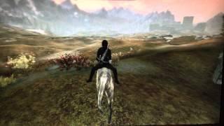 Skyrim - Mike's Mystical Mounts mod - WOLF