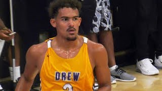 Trae Young Goes OFF In Drew League Debut! 31 PTS 11 AST VS Drew League KING Frank Nitty!
