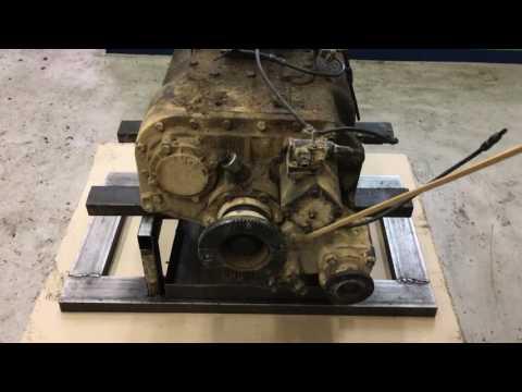 Ремонт КПП грузового автомобиля шакман (шанкси) Shacman Shaanxi 12JS160TA
