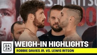 HIGHLIGHTS | Robbie Davies Jr. vs. Lewis Ritson: Weigh-In