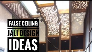 False Ceiling Jali Design Ideas