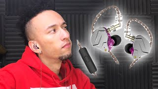 UNBOXING | KZ ZSN Pro In-Ear Wired Earphones With Microphone (Purple)