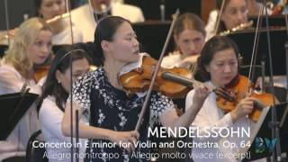 Midori Plays Mendelssohn with the New York Philharmonic   Bravo! Vail 2015 Season