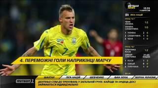 Футбол NEWS от 10.09.2018 (15:40) | Сборная Украины обыграла Словакию