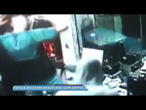 Comerciantes estão preocupados com a onda de assaltos em Bocaina