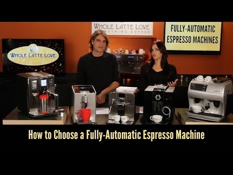 How To Choose a Fully Automatic Espresso Machine - Countertop Cafe