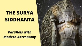 THE SURYA SIDDHANTA: Parallels with Modern Astronomy (Hindu scripture)