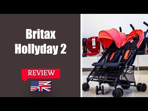 Britax Holiday Double - Twin Pushchair FULL Review