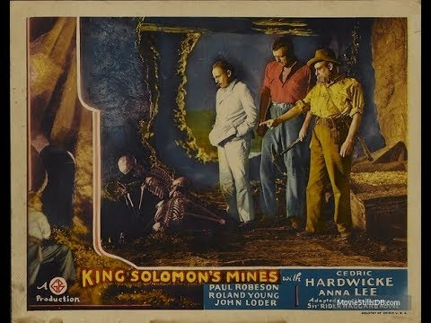 Las Minas del Rey Salomón (1937) - Completa